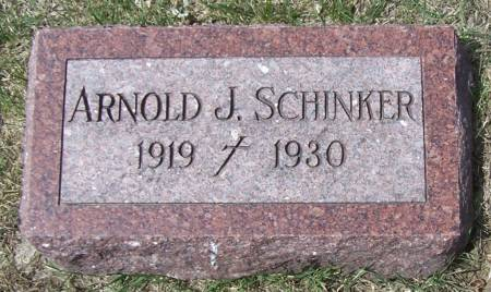 SCHINKER, ARNOLD J - Benton County, Iowa | ARNOLD J SCHINKER