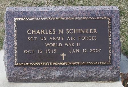 SCHINKER, CHARLES N - Benton County, Iowa   CHARLES N SCHINKER