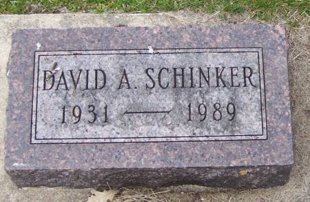 SCHINKER, DAVID A - Benton County, Iowa | DAVID A SCHINKER