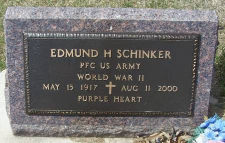 SCHINKER, EDMUND H - Benton County, Iowa | EDMUND H SCHINKER