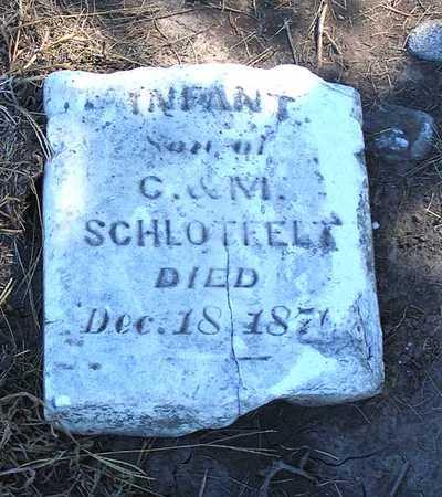 SCHLOTFELT, INFANT SON - Benton County, Iowa | INFANT SON SCHLOTFELT