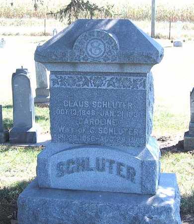 SCHLUTER, CLAUS - Benton County, Iowa | CLAUS SCHLUTER