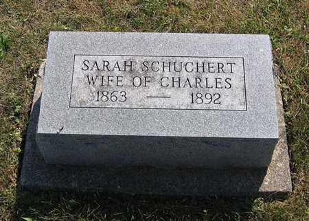 SCHUCHERT, SARAH E. - Benton County, Iowa | SARAH E. SCHUCHERT