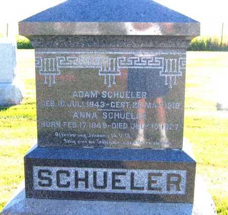 SCHUELER, ANNA - Benton County, Iowa | ANNA SCHUELER
