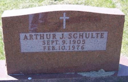 SCHULTE, ARTHUR J - Benton County, Iowa   ARTHUR J SCHULTE