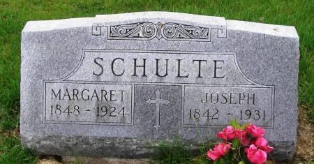 SCHULTE, JOSEPH - Benton County, Iowa | JOSEPH SCHULTE
