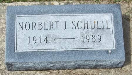 SCHULTE, NORBERT J - Benton County, Iowa | NORBERT J SCHULTE