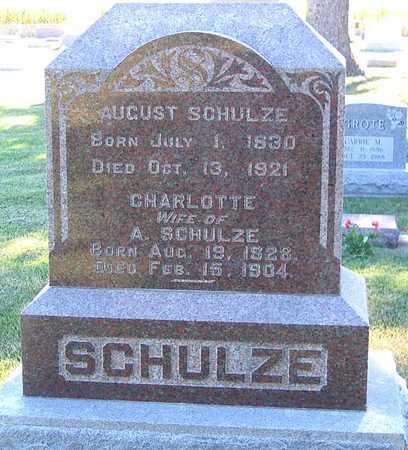 SCHULZE, AUGUST - Benton County, Iowa | AUGUST SCHULZE