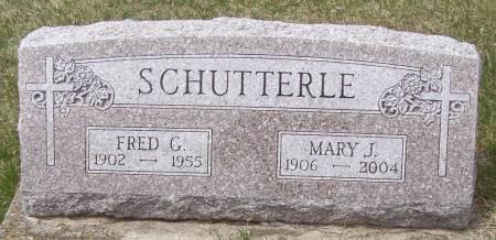 SCHUTTERLE, FRED G - Benton County, Iowa | FRED G SCHUTTERLE