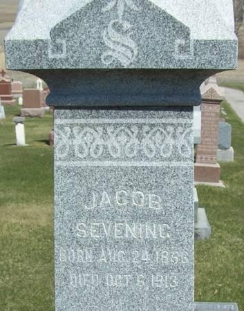 SEVENING, JACOB - Benton County, Iowa | JACOB SEVENING