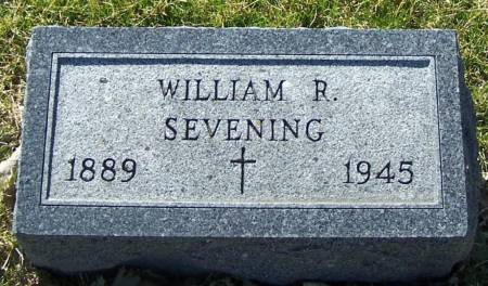 SEVENING, WILLIAM R - Benton County, Iowa | WILLIAM R SEVENING