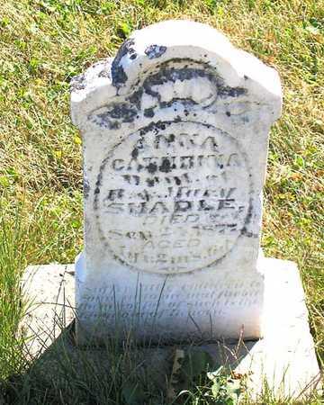SHADLE, ANNA CATHRINA - Benton County, Iowa | ANNA CATHRINA SHADLE