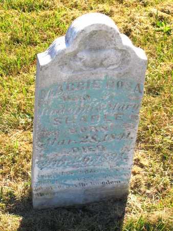 SHADLE, MAGGIE ROSA - Benton County, Iowa   MAGGIE ROSA SHADLE