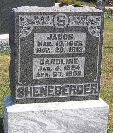 SHENEBERGER, JACOB - Benton County, Iowa | JACOB SHENEBERGER