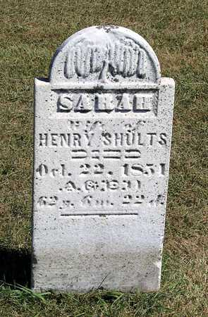 SHULTS, SARAH - Benton County, Iowa | SARAH SHULTS