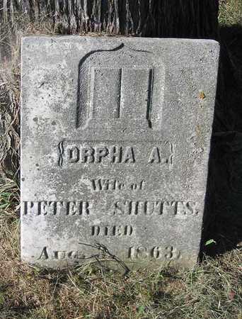 SHUTTS, ORPHA A. - Benton County, Iowa | ORPHA A. SHUTTS