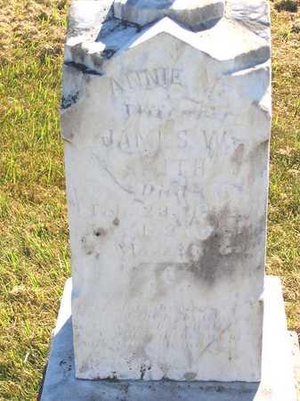 SMITH, ANNIE M. - Benton County, Iowa   ANNIE M. SMITH