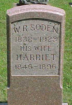 SODEN, HARRIET - Benton County, Iowa | HARRIET SODEN
