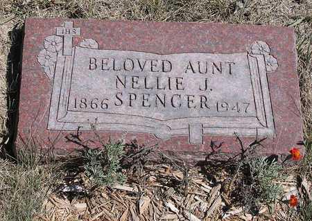 SPENCER, NELLIE J. - Benton County, Iowa | NELLIE J. SPENCER