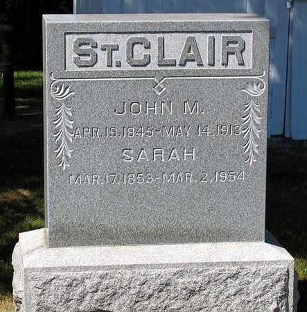 ST. CLAIR, JOHN M. - Benton County, Iowa | JOHN M. ST. CLAIR