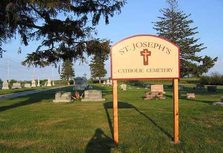 ST. JOSEPH'S CATHOLIC, CEMETERY - Benton County, Iowa | CEMETERY ST. JOSEPH'S CATHOLIC