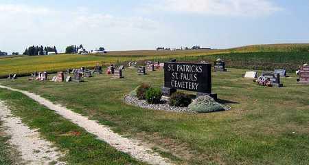 ST. PATRICK AND ST. PAUL CATHO, CEMETERY - Benton County, Iowa | CEMETERY ST. PATRICK AND ST. PAUL CATHO