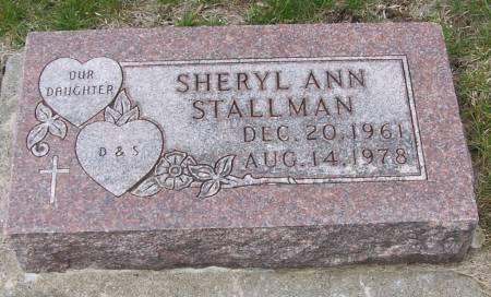 STALLMAN, SHERYL ANN - Benton County, Iowa | SHERYL ANN STALLMAN