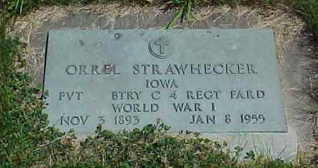 STRAWHECKER, ORREL - Benton County, Iowa | ORREL STRAWHECKER