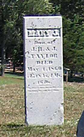 TAYLOR, MARY J. - Benton County, Iowa | MARY J. TAYLOR