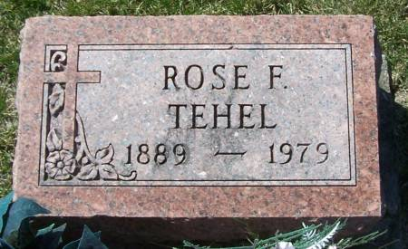 TEHEL, ROSE F. - Benton County, Iowa | ROSE F. TEHEL