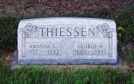 THIESSEN, GEORGE H. - Benton County, Iowa | GEORGE H. THIESSEN