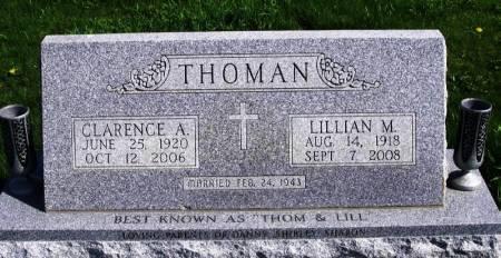 THOMAN, CLARENCE A. - Benton County, Iowa   CLARENCE A. THOMAN