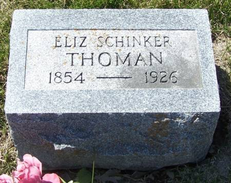 THOMAN, ELIZ - Benton County, Iowa | ELIZ THOMAN