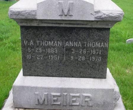 THOMAN, VINCENT A. - Benton County, Iowa | VINCENT A. THOMAN