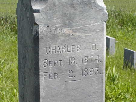 THOMPSON, CHARLES D. - Benton County, Iowa | CHARLES D. THOMPSON