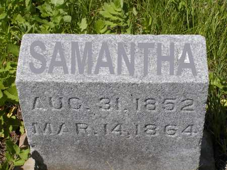 THOMPSON, SAMANTHA - Benton County, Iowa | SAMANTHA THOMPSON