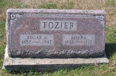 TOZIER, EDGAR ALONZO - Benton County, Iowa | EDGAR ALONZO TOZIER