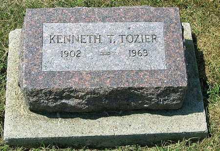 TOZIER, KENNETH TRUE - Benton County, Iowa | KENNETH TRUE TOZIER