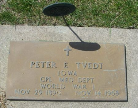TVEDT, PETER E. - Benton County, Iowa | PETER E. TVEDT
