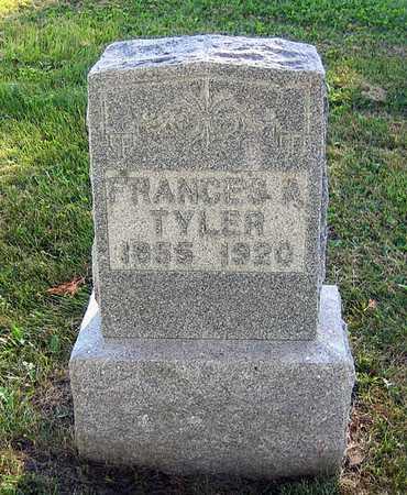 TYLER, FRANCES A. - Benton County, Iowa | FRANCES A. TYLER