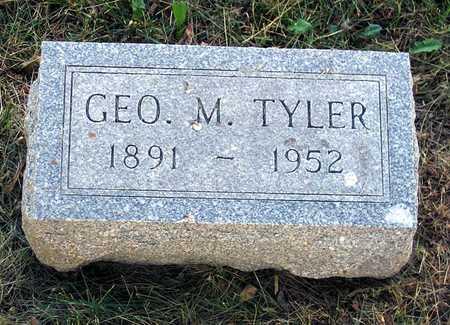 TYLER, GEO. M. - Benton County, Iowa | GEO. M. TYLER