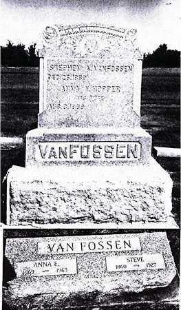 HOPPER VAN FOSSEN, ANNA AGNES ELIZABETH - Benton County, Iowa | ANNA AGNES ELIZABETH HOPPER VAN FOSSEN