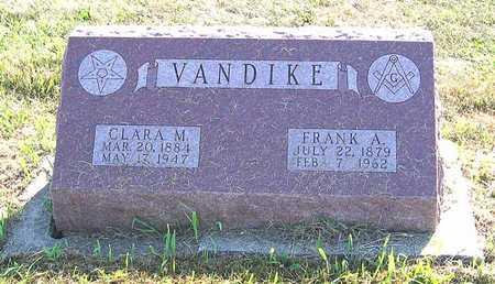 VANDIKE, FRANK A. - Benton County, Iowa | FRANK A. VANDIKE
