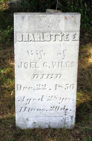 VILES, CHARLOTTE E. - Benton County, Iowa | CHARLOTTE E. VILES