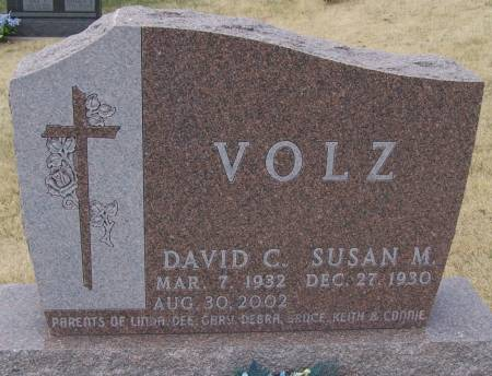 VOLTZ, DAVID C - Benton County, Iowa | DAVID C VOLTZ