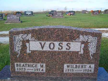VOSS, BEATRICE M. - Benton County, Iowa | BEATRICE M. VOSS