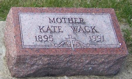 WACK, KATE - Benton County, Iowa | KATE WACK