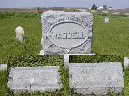 WADDELL, MOTHER - Benton County, Iowa | MOTHER WADDELL