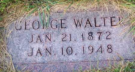WALTER, GEORGE - Benton County, Iowa | GEORGE WALTER