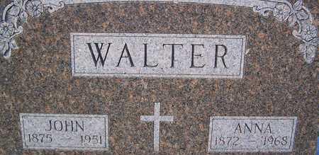 WALTER, JOHN - Benton County, Iowa | JOHN WALTER
